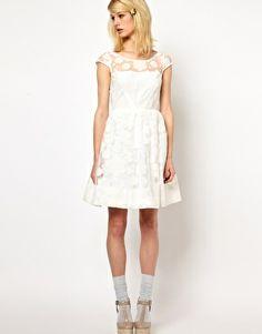 future wedding dress: Orla Kiely Cloud Organza Dress in White