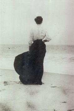1905 down at the beach.