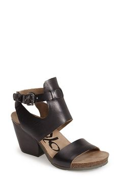 OTBT 'Lee' Leather Sandal (Women) available at #Nordstrom