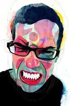 ANGRY PEOPLE a collaborative project by Chile-based graphic designer, filmmaker & illustrator Alvaro Tapia Hidalgo