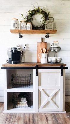 p/adelyn-farmhouse-coffee-bar-farmhouse-vanity-farmhouse-entrytable-coffee-bar-farmhouse-furniture delivers online tools that help you to stay in control of your personal information and protect your online privacy. Decor, Farm House Living Room, Farmhouse Vanity, Kitchen Decor, Farmhouse Coffee Bar, Coffee Bar Home, Home Coffee Stations, Home Decor, Farmhouse Buffet