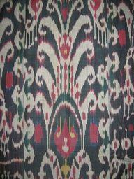 IKAT OF CENTRAL ASIA | uzbek... cloth... ikat