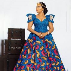 Great Latest African fashion clothing looks Tips 7546571004 African Maxi Dresses, African Fashion Ankara, Latest African Fashion Dresses, African Dresses For Women, African Print Fashion, African Attire, African Outfits, Africa Fashion, African Prints
