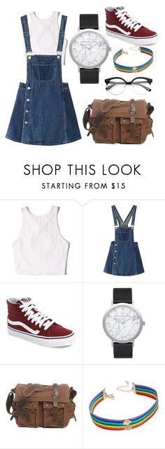 """""""Studying"""" by tamii-2422 on Polyvore featuring moda, Hollister Co., WithChic, Vans, Elwood y INC International Concepts"""