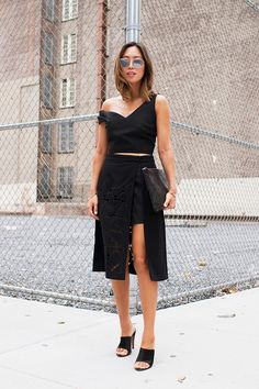 The One Summer Piece Fashion Girls Wear to Look Taller via @WhoWhatWear