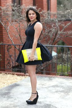 black dress via @mys