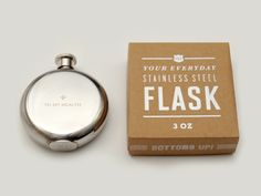 To My Health 3 oz. Flask by Izola from Michele Varian   perfect for fathers day