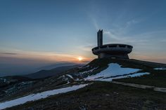 Located on top a historical peak in the Central Stara Planina, Bulgaria, the Buzludzha monument looks like an alien ship out of a sci-fi movie. Built in 1981, the monument is closed for the public....