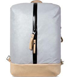 Nocturnal Workshop Silver/Natural N.3 Backpack