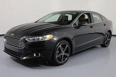 2015 Ford Fusion SE Sedan 4-Door 2015 FORD FUSION SE ECOBOOST SUNROOF HTD LEATHER 39K MI #159463 Texas Direct