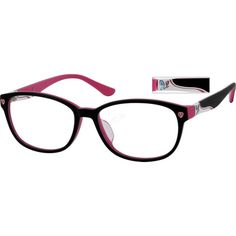 A classic acetate feminine frame for colorful people. The inserted nosepad offers extra durability and subtlety.