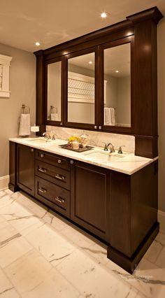 Ok - I LOVE this!!! I need to do something similar to my bathroom.