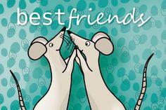 """Gratis e-card: """"Best friends"""""""