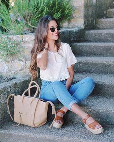 Consulta esta foto de Instagram de @patiaguado • 1,492 Me gusta Spring Summer Fashion, Louis Vuitton, Formal, Womens Fashion, Instagram Posts, Hair, Style, Photos, Preppy