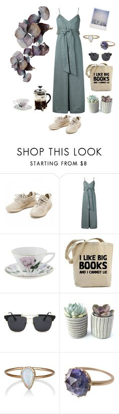 """""""summertime, and the livin' is easy #1"""" by entipuf ❤ liked on Polyvore featuring CITYSHOP, Ted Baker, Julie Wolfe, Polaroid, Anaconda and Primula"""