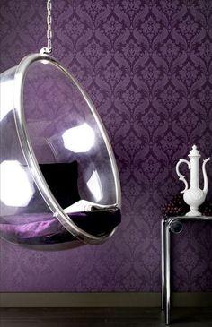 Bubble Chair - Aarnio Eero...fun for a teenagers room