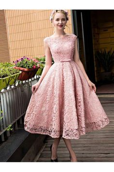 Discount Cap Sleeve Prom Homecoming Dress Short Pink Homecoming Dresses With Lace Up Bandage Magnificent Dresses WF02G53-189