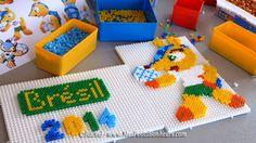 DIY FIFA World Cup 2014 hama perler beads by Rachel - Mes Petits Bonheurs