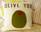 pillow-I need to make this for Tony (his favorite go-to quick-fix snack)!