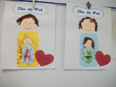 DIA DO PAI Kids Crafts, Preschool Crafts, Reggio Emilia, Father's Day Activities, Mother And Father, Nursery Art, Happy Mothers Day, Mom And Dad, Fathers Day