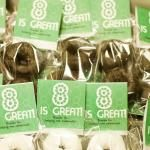 8 is great! Ideas to celebrate