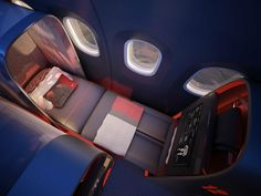 Nike-Themed Airplane Interior Could End Home Field Advantage