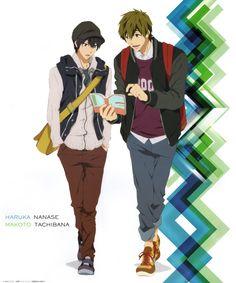 Mako Haru!! <3 i don't ship you but well.. Its haru so..