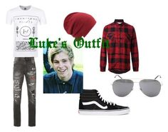 """""""Luke Hemming's Outfit"""" by dorothy-p-wongplaek on Polyvore featuring Sacai, Haculla, Vans, Coal, Yves Saint Laurent, men's fashion and menswear"""