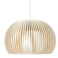Suspensions bois secto design luminaires lightings for Luminaire design entree