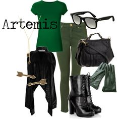 How to dress like Artemis from Young Justice