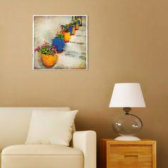 """Картина 48 х 48 см """"Средиземноморье"""" (декоративное стекло) 949 руб. http://decoretto.ru/art/glass/kartina-48-h-48-sm-sredizemnomore-dekorativnoe-steklo/"""