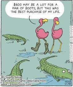 Flamingo funny cartoons from CartoonStock directory - the world's largest on-line collection of cartoons and comics. Flamingo Craft, Flamingo Funny, Flamingo Gifts, Flamingo Decor, Flamingo Party, Flamingo Pictures, Funny Animals, Cute Animals, Really Funny Pictures