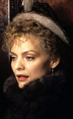 "Michelle Pfeiffer as Ellen Olenska in ""The Age Of The Innocence""."