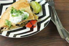 Roasted Vegetable Quesadillas Recipe- absolutely delicious! #quesadillas #roastedvegetables #healthymexicanrecipes