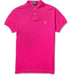 Polo Ralph LaurenCustom-Fit Cotton-Piqué Polo Shirt