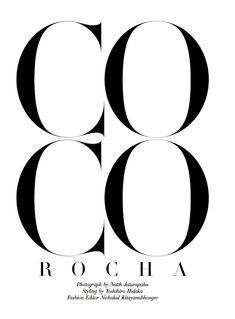 """Coco Rocha"" | Model: Coco Rocha, Photographer: Natth Jaturapahu, Harper's Bazaar Thailand, October2014"