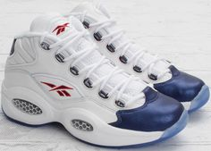 "Reebok ""The Question"", AI's rookie shoes"