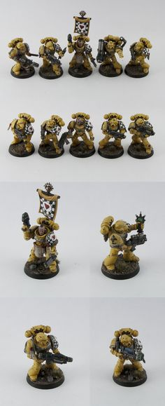 The Lamenters Space Marine Chapter - Tartan Paint Studios