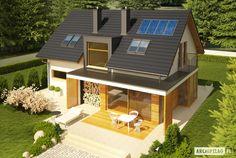 Projekty domów ARCHIPELAG - Katja