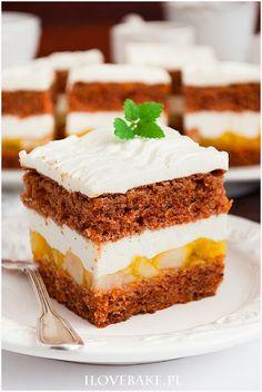 Sweet Recipes, Cake Recipes, Polish Recipes, Apple Pie, Vanilla Cake, Tiramisu, Catering, Cheesecake, Good Food