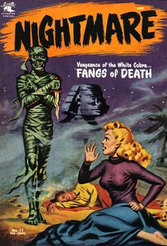 Comic Book Cover For Nightmare v1 #11