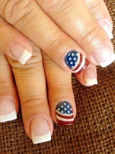 Forth of July Nail Art, 4th of July Nails