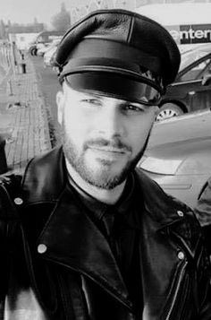 Urban Male, Tom Of Finland, Facial Recognition, Leather Cap, Bikers, Bearded Men, Bad Boys, Sexy Men, Hot Guys