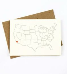 Send a heart to your Valentine in Los Angeles with this cute Lark Press card <3