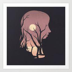 Grove Art Print by Federico Detor Simoni - $20.00
