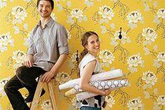 Tapeta wraca do łask! Jak perfekcyjnie położyć tapetę na ścianę? Krok po kroku. Lunch, Eat Lunch, Lunches