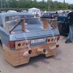 Chav car