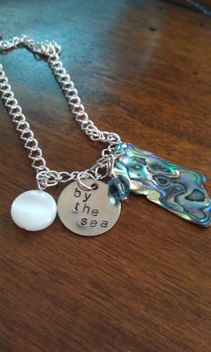 By the seaLovely Beach inspired necklace by LoBabyJewelry on Etsy, $20.00