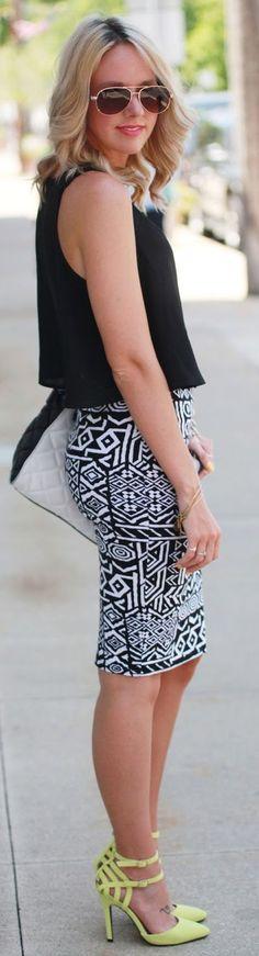 Zeliha's Blog: LoLoBu Skirts Top Black Cropped Blouse