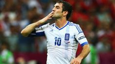 Still can't believe they ended up knocking out Russia -- Karagounis scored as Greece produced one of the shocks of Euro 2012 to knock Russia out of the tournament and seal their place in the last eight. World Cup 2014, Fifa World Cup, Euro 2012, International Football, English Premier League, European Championships, European Football, Europa League, Uefa Champions League